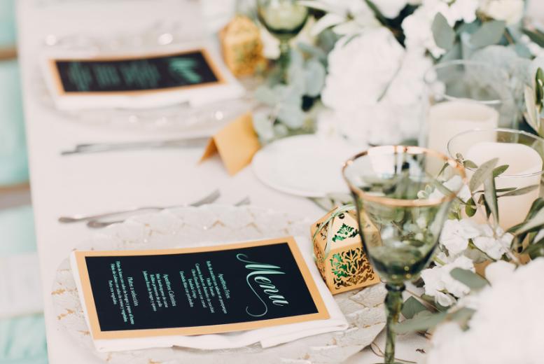 décoration de mariage table