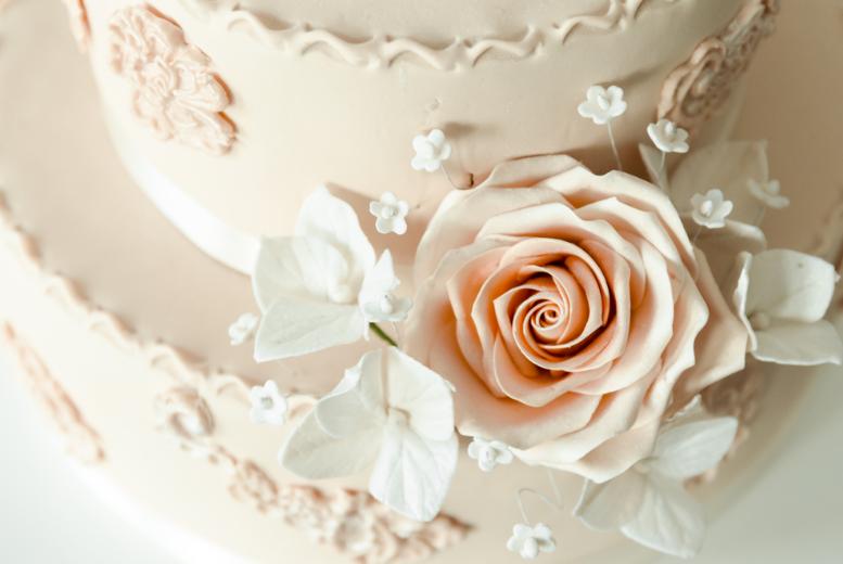 décoration de mariage gateau