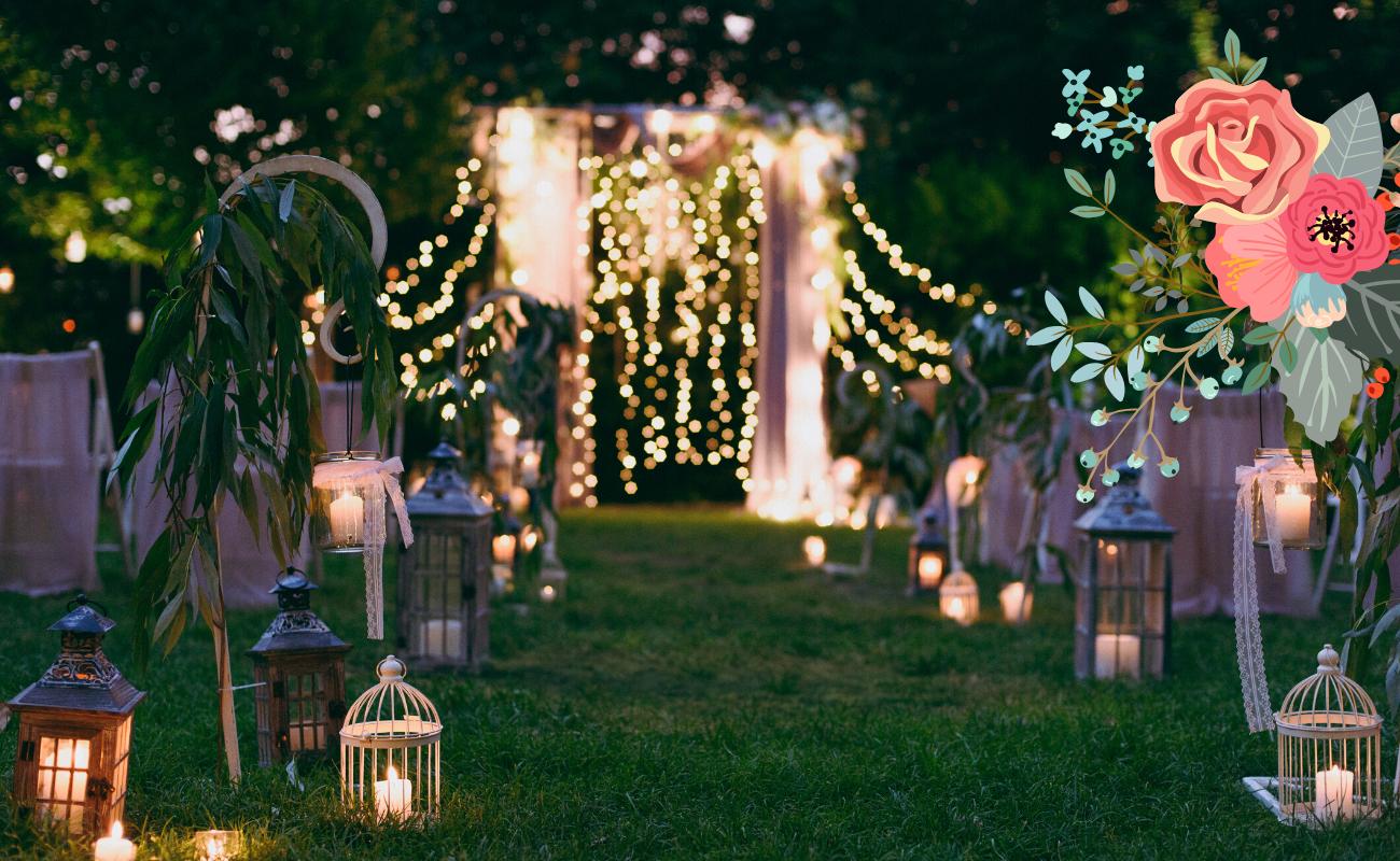 comment organiser une cérémonie de mariage laïque en plein air ou en intérieur pour un échange de vœux romantique et émouvant